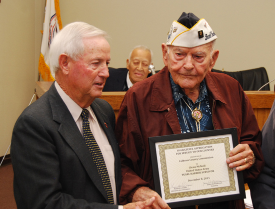 Pearl Harbor Veterans December 8 2011 meeting